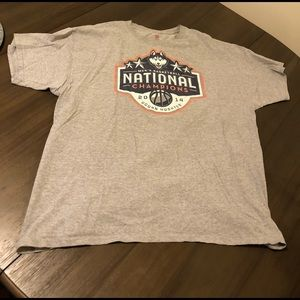 Uconn national champion basketball tee 2x
